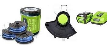 Greenworks Weed Eater String Trimmer 40v 80v Battery Amp More